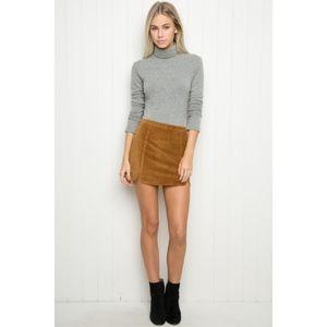 Brandy Melville Raquel Corduroy Mini Skirt
